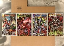 Spawn WildCats Devil Day #1 2 3 4 - Image Comics Complete Story Lot - Alan Moore