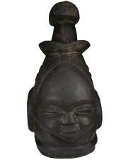 Afrika Mende Helmmaske Sierra Leone / Liberia Stammeskunst Tribal Art