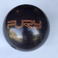 Brunswick Fury 15# Bowling Ball 14 lbs 15 oz Single Drill Purple High Octane