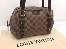 """Auth Louis Vuitton Damier Brown Rivington PM Shoulder Bag 7F120430s"""""""
