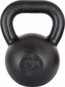 20kg Cast Iron KETTLEBELL Weight Set CrossFit Fitness Kettle Bell Weight Lifting