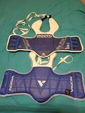 Mooto And Vision Taekwondo Reversible Chest Guard Set