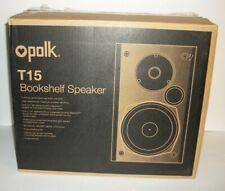 "New Open-Box Excellent: Polk Audio - 5-1/4"" Bookshelf Speakers - Pair - Black"
