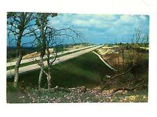 Texas Dallas Fort Worth Turnpike Postcard