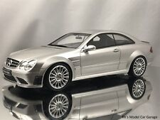 Otto Mobile Ottomobile Mercedes-Benz CLK63 Coupe AMG Black Series Silver 1:18