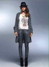 DENNY ROSE CAPPOTTO giaccone lana lungo art. 0603 colore NERO