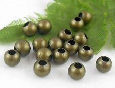 300Pcs Bronze Plated (Lead-Free)Round Spacer Beads Findings 5mm