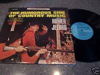 """Homer & Jethro """"The Humorous Side Of Country Music"""" LP"""
