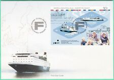 Finnjet Passenger Ship Nordic Sheet Finland FDC 2014