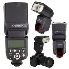 YN560 III Flash Speedlite For Canon 5D II 5DIII 60D 70D 750D 650D 600D 550D 450D