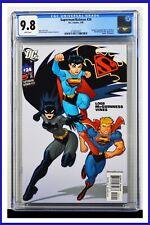 Superman Batman #24 CGC Graded 9.8 DC January 2006 White Pages Comic Book