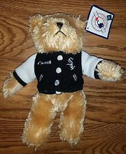 """Chicago White Sox Baseball MLB Teddy Bear in """"Coach"""" Jacket. New With Tag! #2"""
