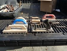 Good Used Set Of 9 Mason Tools For Cement & Dry Wall Work