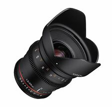 Rokinon 20mm T1.9 Cine DS AS ED UMC Wide Angle Cine Lens for Canon EF - DS20M-C
