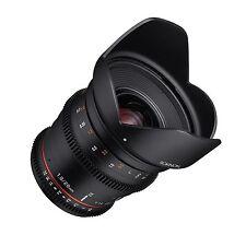 Rokinon 20mm T1.9 Cine Ds como Ed Umc Gran Angular Lente para Canon Ef - Ds20m-c