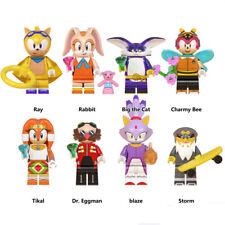 Sonic the Hedgehog Tikal Rabbit Ray 8PCS Building Blocks Figure Toy Gift For Kid
