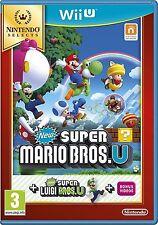 Super Mario Bros. u Nintendo Wii U-Nuevo-Super rápida entrega de primera clase Gratis