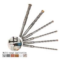 150mm SDS Plus Rotary Hammer Drill Bit Bits Drilling Concrete Wall 6~16mm 6Pcs
