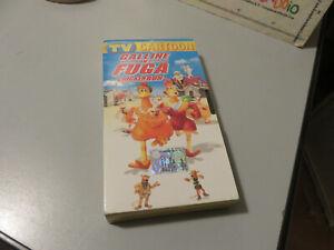 VHS Ita Animazione GALLINE IN FUGA Chicken Run DREAMWORKS TV sorrisi e canzoni