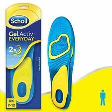 Scholl Men's Gel Activ Everyday Insoles, UK Size 7 to 12
