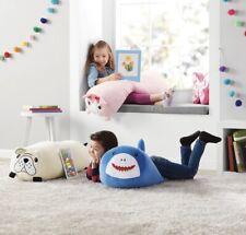Toddler Kids Jumbo Squishy Bolster Bed Pillow Plush Huggable Toy (Choose Pet)