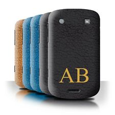 Personalised Custom Leather Effect Phone Case for Blackberry Bold 9900/Cover