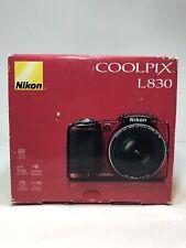 NEW Nikon COOLPIX L830 Digital Camera (Red)