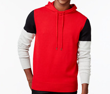 NEW SEAN JOHN COLORBLOCK HOODIE SWEATER MENS 3X 3XL RED MULTI FREE SHP