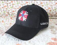 Resident Evil Biohazard Umbrella Countermeasure Service BUCS Black Baseball Cap