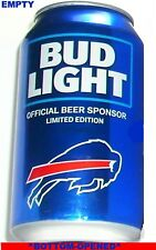 2018 BUFFALO BILLS NFL KICKOFF BUD LIGHT BEER CAN SPORT FOOTBALL NY FAN MAN CAVE