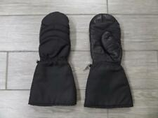 Vintage Leather Gloves MITTENS Snowmobile Motorcycle LARGE kawasaki yamaha buco