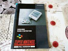 Notice - Handleiding Console Super Nintendo HOL-7