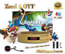 The New Model of iSTAR Zeed 4 OTT Receiver with 1 year Free OnlineTV code