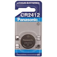 ENVOI SOUS SUIVI Panasonic 1 pile CR2412 Lithium 3 V 100 mAh