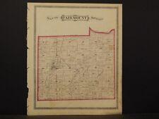 Indiana, Grant County Map, 1877, Township of Fairmount, K2#88