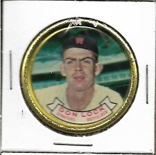 1964 TOPPS BASEBALL COINS SET BREAK #53 DON LOCK