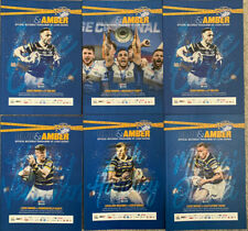 More details for 6 x leeds rhinos programmes 2020 mint