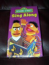 **NEW* RARE SEALED VHS SESAME STREET Sing Along VHS LV51310