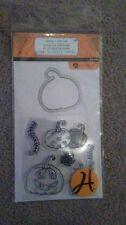 Hampton Art Halloween Clear Stamps - Pumpkin SC0727 -#593 -NEW!!