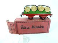 Hornby Meccano Weinfasswagen SNCF  Spur 0  OVP 1950er J. unbespielt Top