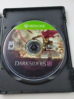 Darksiders III 3 (Microsoft Xbox One, 2018) Disc Only