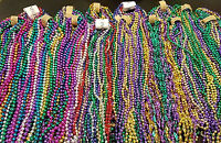 72 Authentic New Orleans Carnival Parade Throws Mardi Gras Beads Necklaces 6 doz