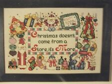 Christmas Is More Lori Gardner Chapelle Designers Cross Stitch Kit MIP w/Extras!