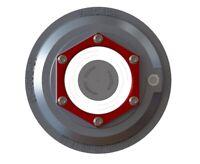 "ONE 4"" Valcrum Aluminum Hub Cap 10K 12K 15K Trailer Axle Grease/Oil 21-36 Dexter"