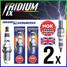 2 x NGK IRIDIUM IX SPARK PLUGS CR8HIX 7669 FOR QUADZILLA R250E Triple Disc 250