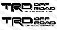 TRD Off Road Decals Vinyl Stickers 1 PAIR / SET Toyota Tundra Tacoma Truck