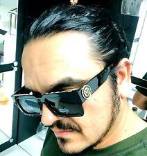 Men Sunglasses Fashion Design Tortoise Black Frame Hip Hop Style Square Shades N