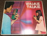 VINTAGE GEOBRA WALKIE TALKIE VINTAGE TOY GEOBRA NR 2250 COLLECTIBLE TOY 70's
