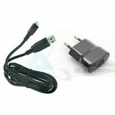 New 100% OEM USB Charger Adapter + Data Cable For Blackberry Mobile Phone's