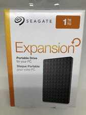 Seagate Expansion 1TB External USB 3.0 Portable Hard Drive - Black STEA1000400
